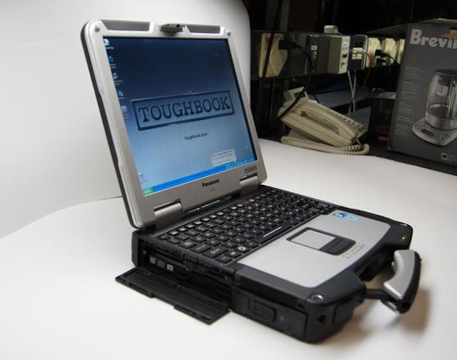 """حاسوب محمول """"Toughbook 31"""" لاينكسر إلا إذا فجرته بالمتفجرات"""