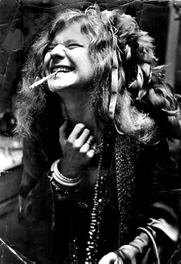 An indelible icon of the 1960s if not quite a Gay Icon Janis Joplin had