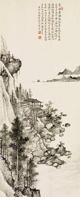 Pavillon Yicui Li Yanshan