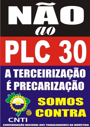 NÃO AO PLC 30