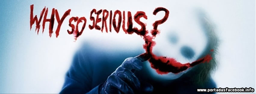 Portada de Why so Serious para Facebook