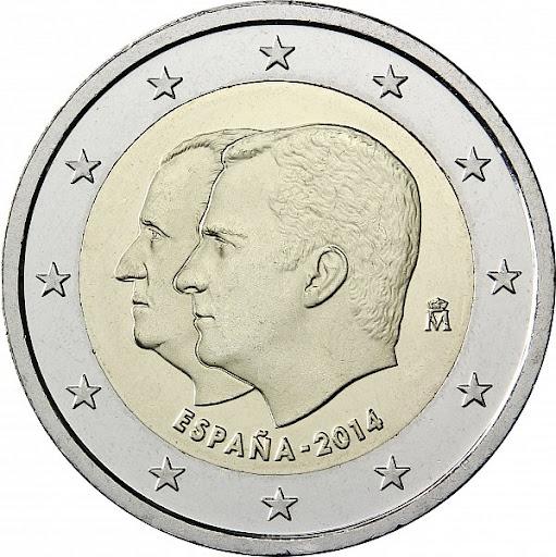 2 euro Spain 2014