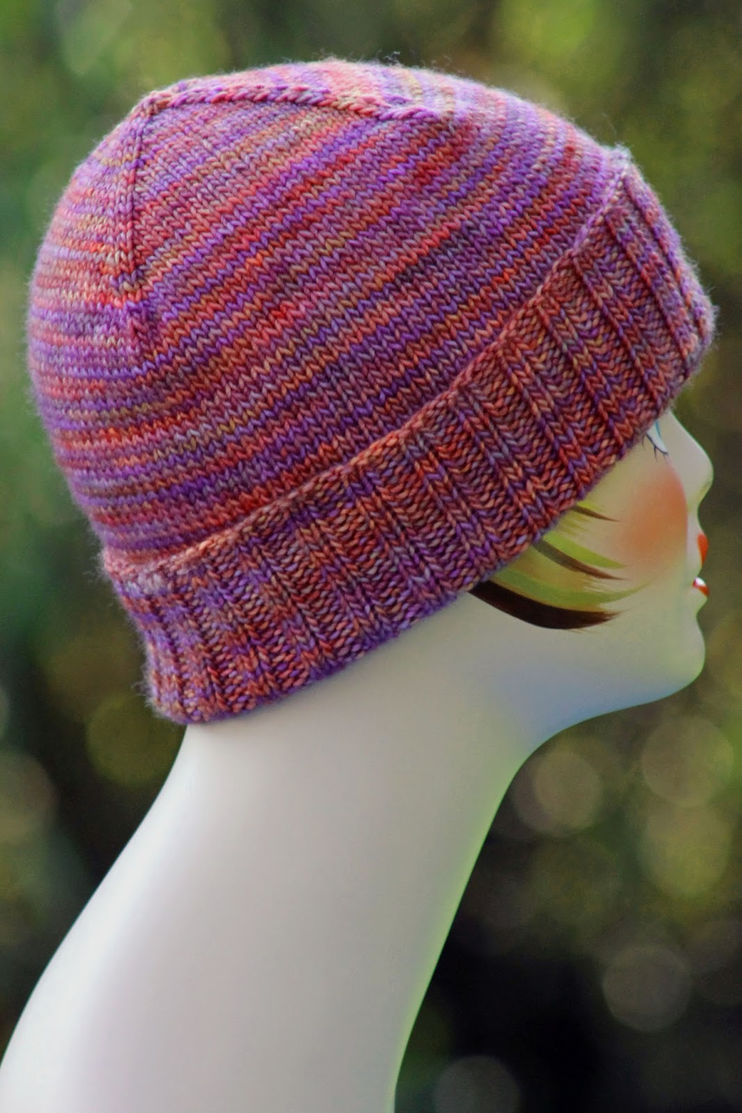 Simple Knit Hat Pattern Circular Needles Magnificent Ideas