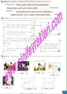 8.Sinif Turkce Enderun Yayinlari Calisma Kitabi Cevaplari Sayfa 23