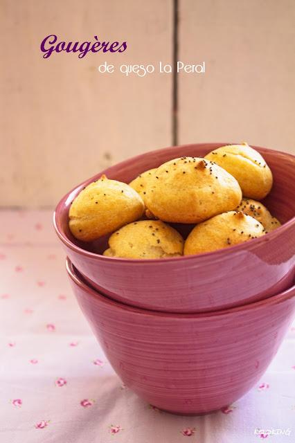 Gougères de queso La Peral
