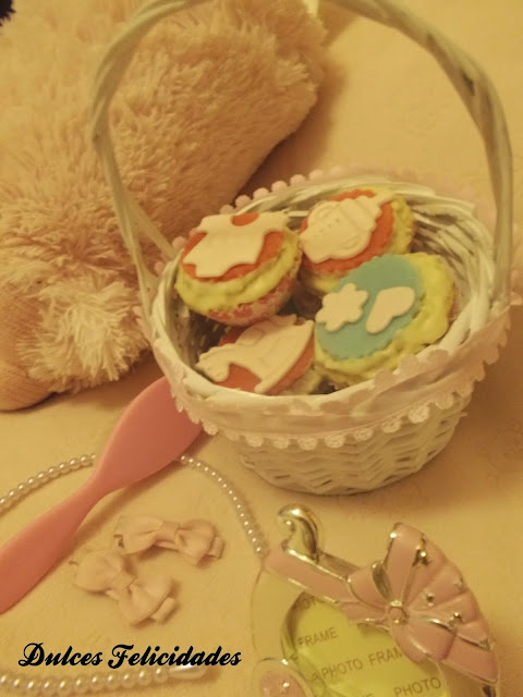 Cupcakes para bebé
