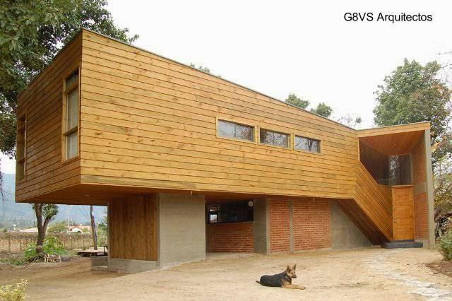 Moderna casa de estilo Contemporáneo en Chile