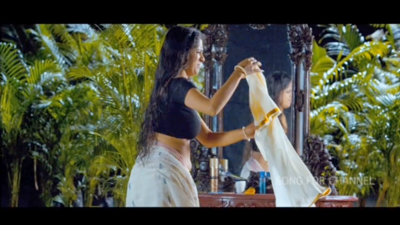 Actress Aparna Nair Hot Navel Show In Saree_Chinni Chinni ...