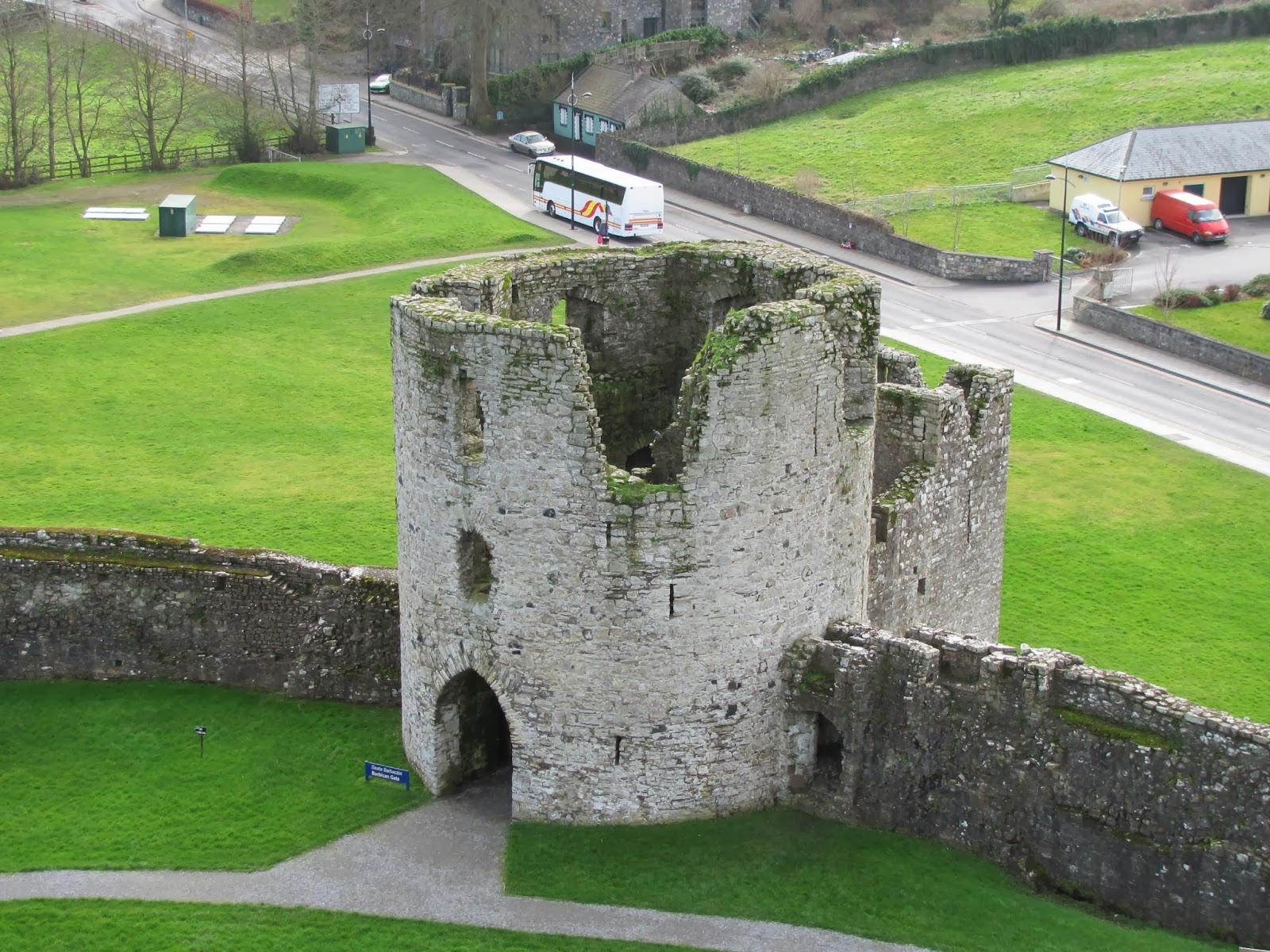 Barbican Gate at Trim Castle, Trim, Ireland