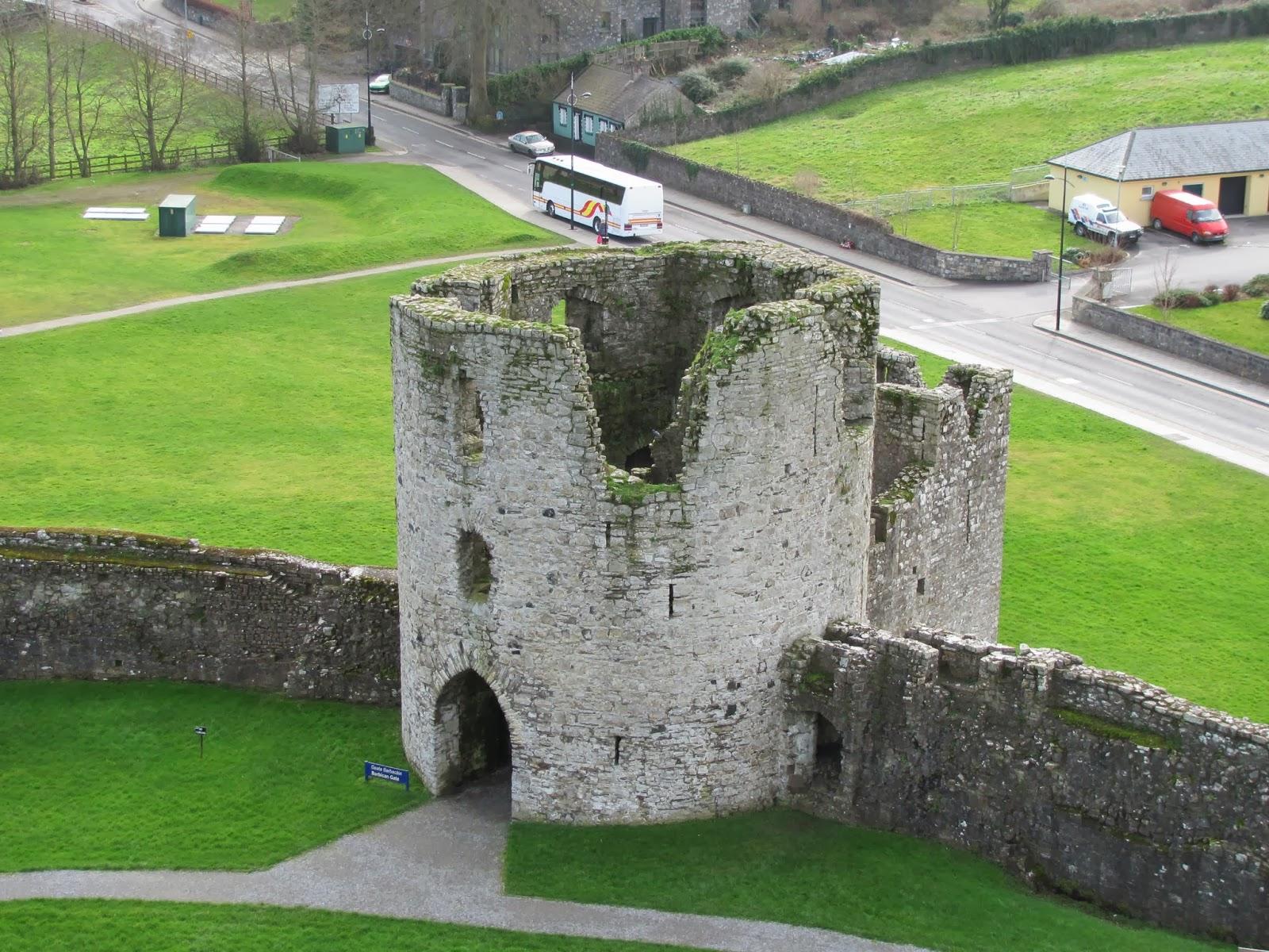 Barbican Gate at Trim Castle, Trim, Ireland