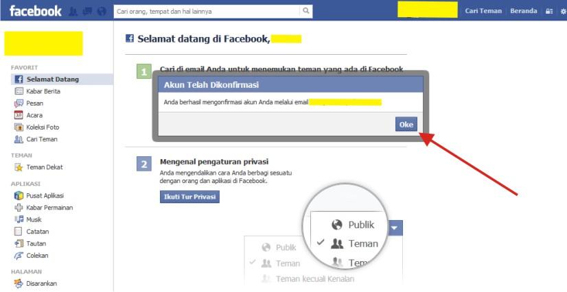 Cara Mendaftar dan Membuat Facebook Terbaru Tahun 2014