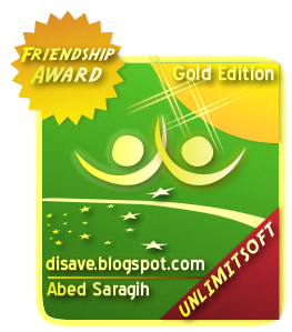 Award For Abed Saragih