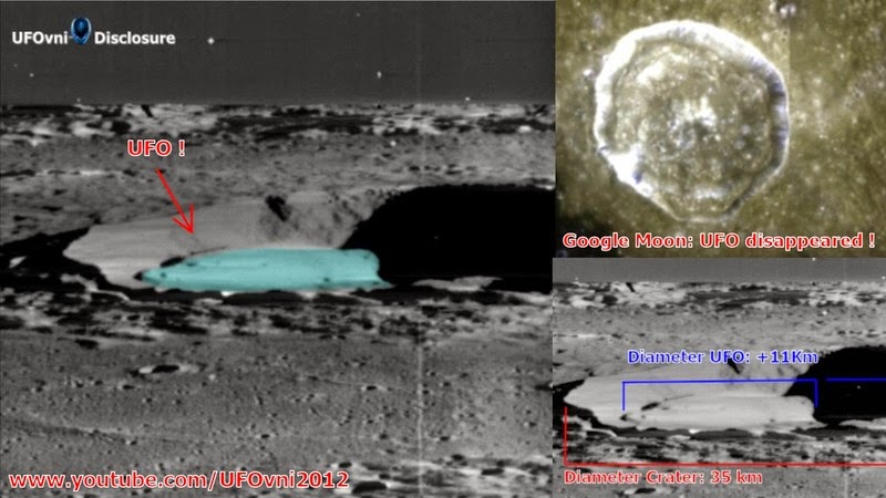 Huge Spacecraft And 100 km Highway Discovered in 1968 Moon Photo
