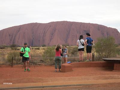 Uluru, Australia Nobody falling off