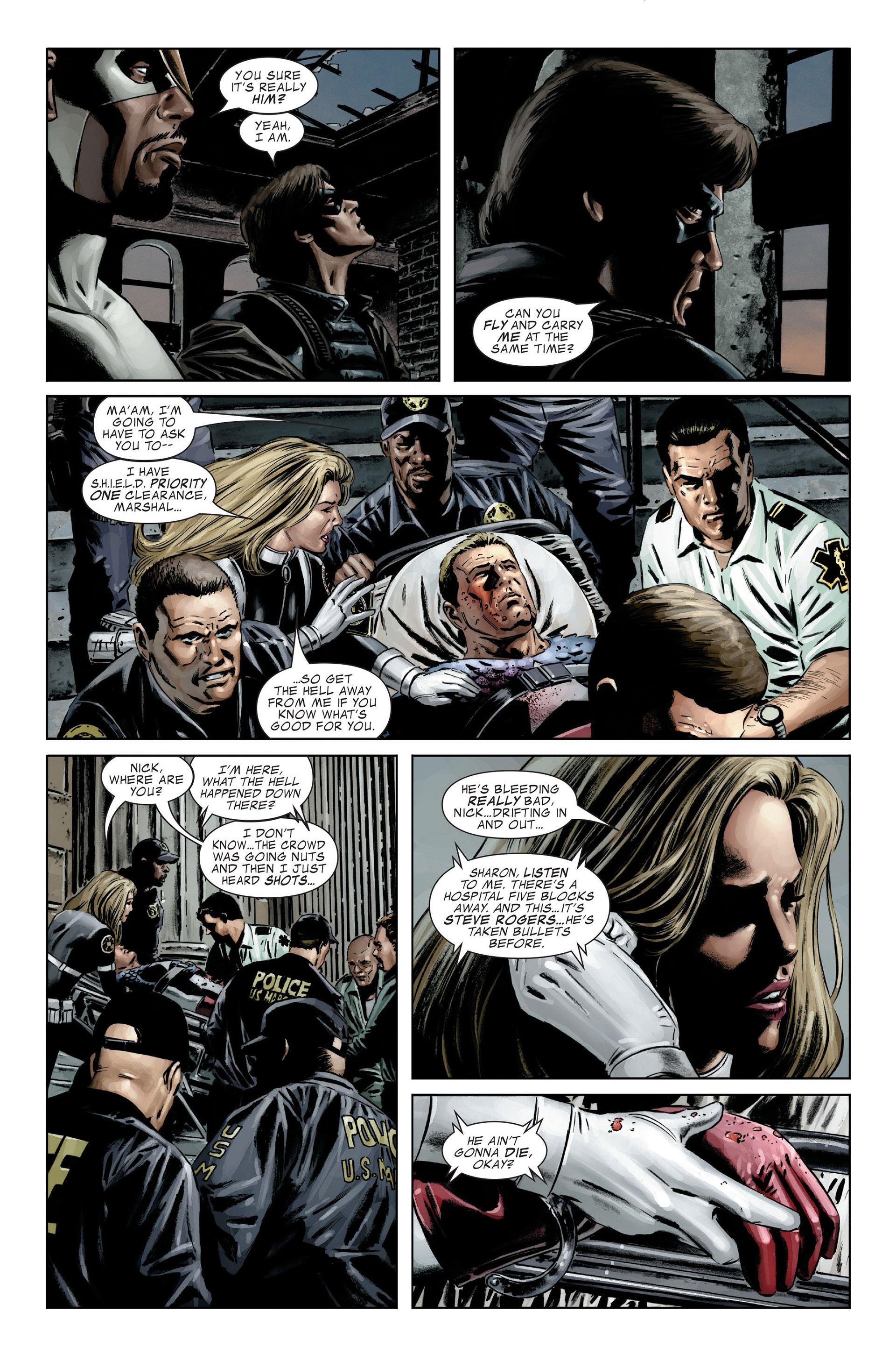 Captain America (2005) Issue #25 #25 - English 22