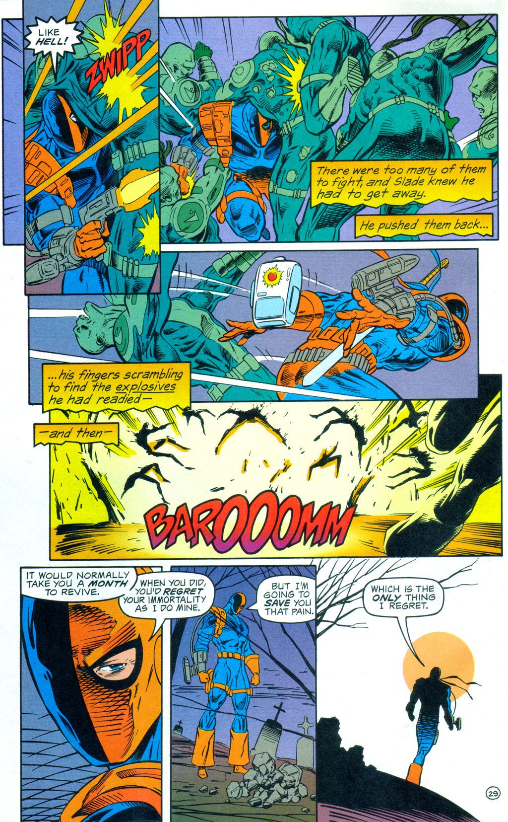 Deathstroke (1991) Annual 3 #3 - English 30