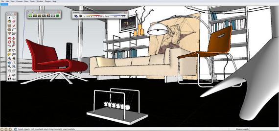 Wizualizacja wykonana za pomocą silnika renderującego V-Ray