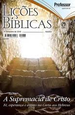 EBD- Lições Bíblicas (adulto) 1º trimestre 2018