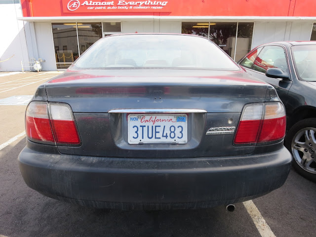Santa's 1997 Accord before getting new auto paint.