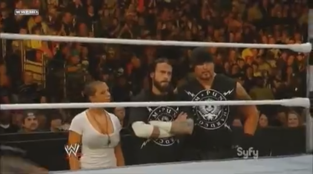 CM Punk Straight Edge Society SES Serena Luke Gallows WWE NXT