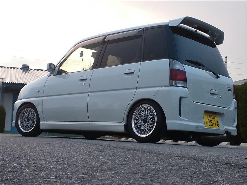 Subaru Pleo, niewielki samochód, jdm, galeria