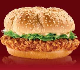 A Mauritius KFC burger