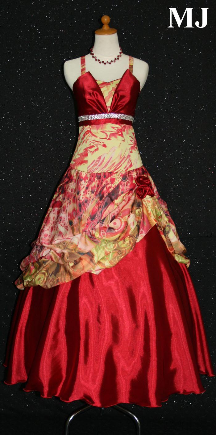 contoh gambar model baju gaun pesta