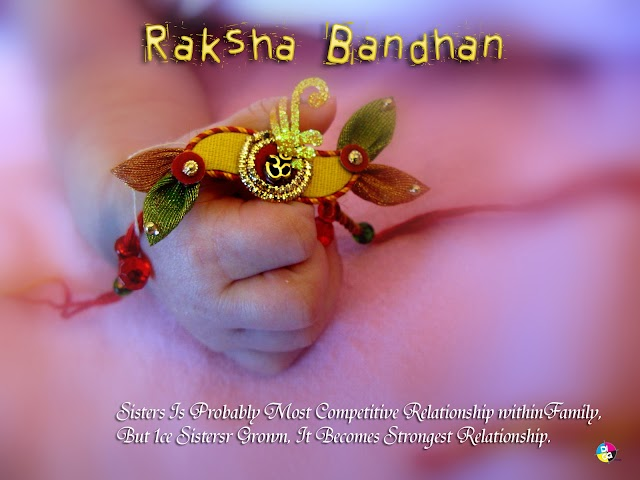 I want 2 tell u, during times wen we fought, my love was in different mood. Happy Raksha Bandhan!