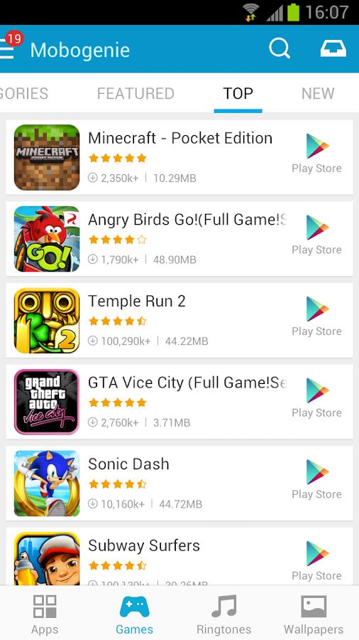 Mobogenie Market Android Apk resimi 1