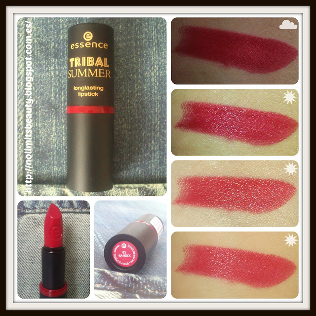 Essence Tribal Summer Longlasting Lipstick 01 Na Rock