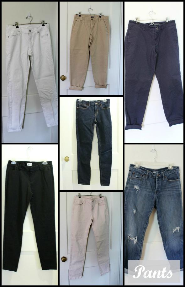 Spring Capsule Wardrobe Pants | www.shealennon.com