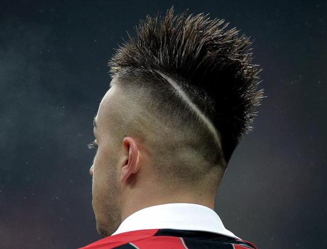 El peinado de El Shaarawy