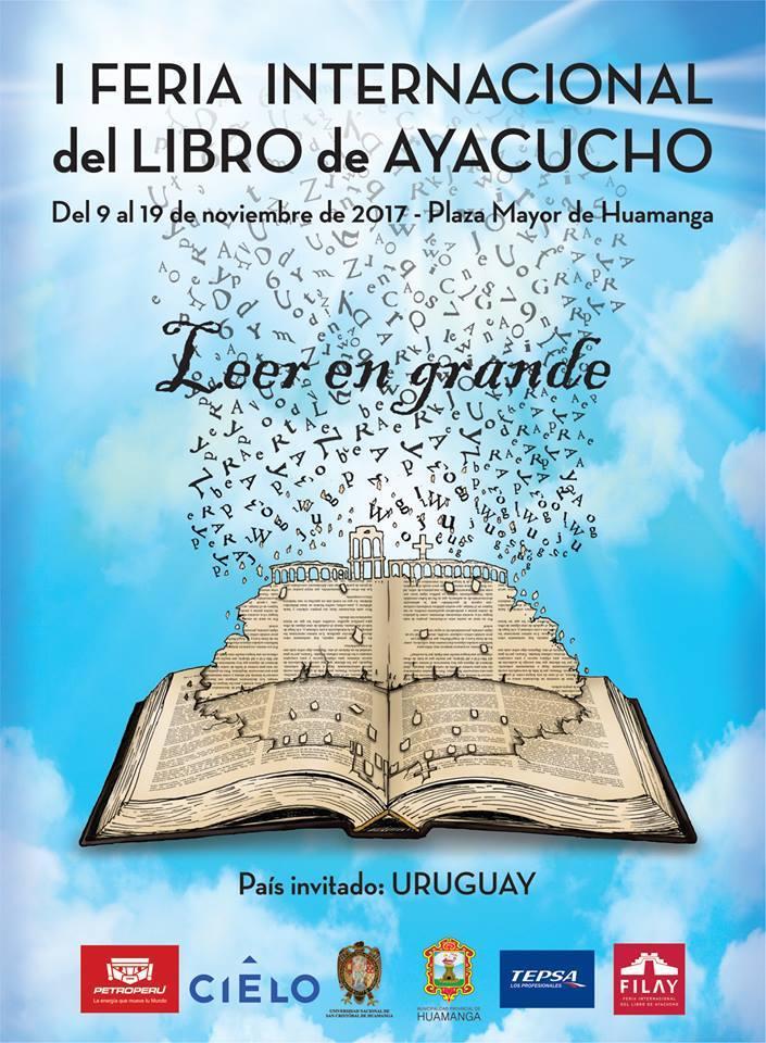 En I Feria Internacional de Libro de Ayacucho (09 al 19 de noviembre 2017)