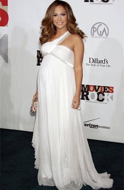 Fotos de mujeres embarazadas con vestidos de fiesta