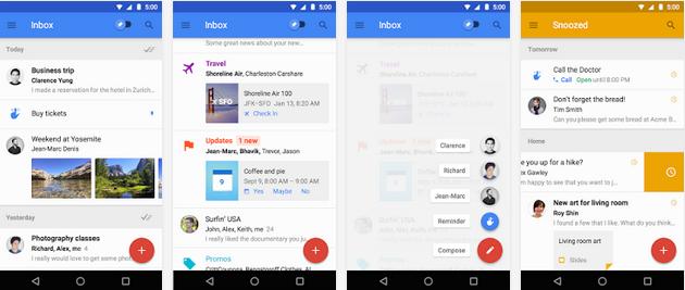 تحميل تطبيق البريد الوارد جيميل الجديد Inbox by Gmail