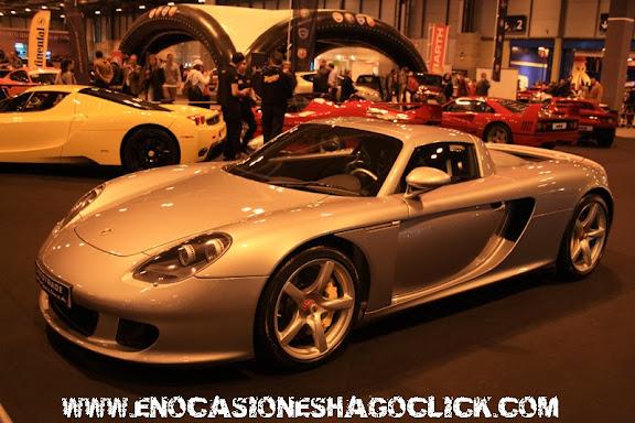 Porsche Carrera GT en Madrid Motor Days
