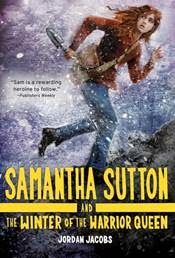 Samantha Sutton and The Winter of the Warrior Queen cover