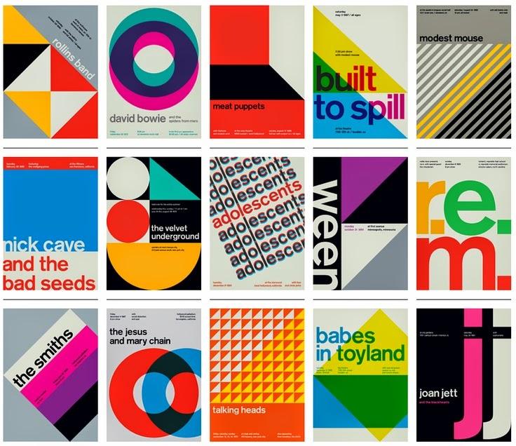 Gráfico. Helvetica.