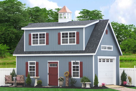 Prefab sheds and garages on sale in pa nj ny and beyond for Two story garages for sale