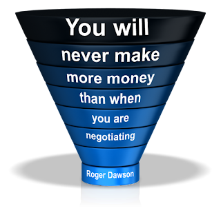 Roger Dawson negotiating quote