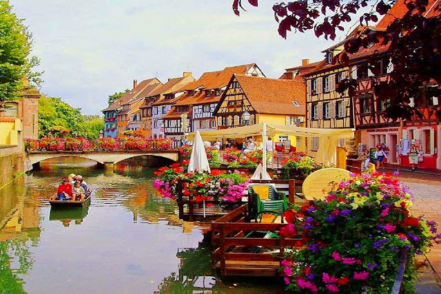 Colmar city, France Most Romantic Places in the World