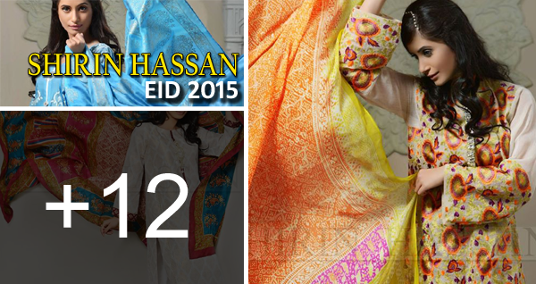 Shirin Hassan Eid 2015 Collection