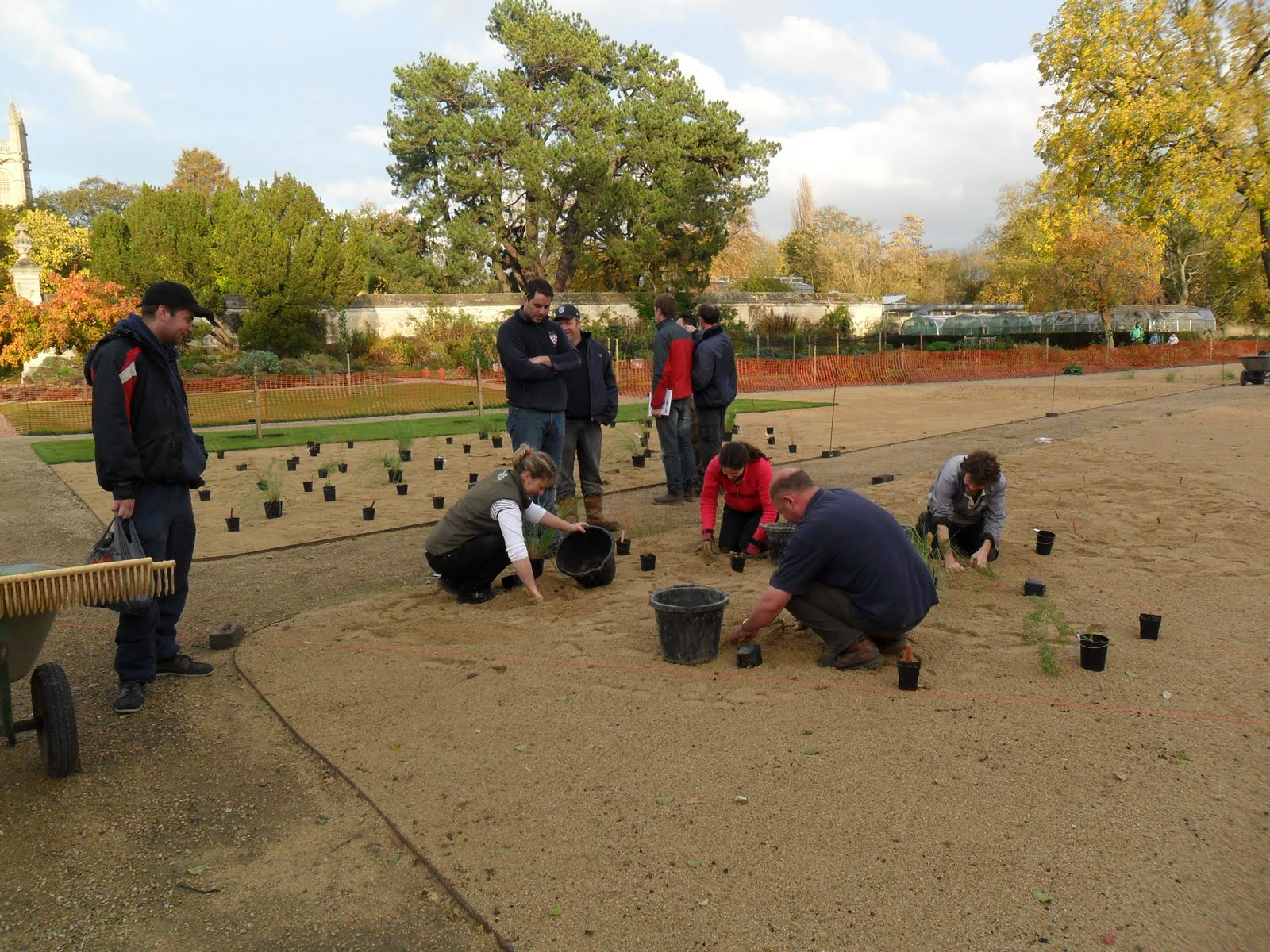 Worcester College Gardeners A Day Of Education