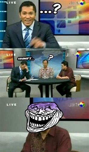 Anggota DPR Asal Ngomong Didamprat Warga DKI di Acara TV Live