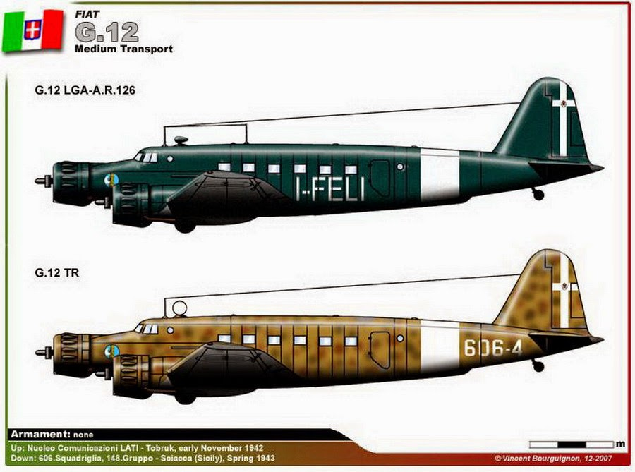 Italian Aircraft of WWII: FIAT...