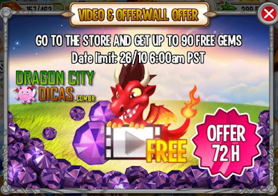 Ganhe 90 Joias no Dragon City - Oferta Especial!