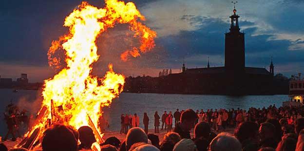 i Skandinavien: Valborgsmässoafton