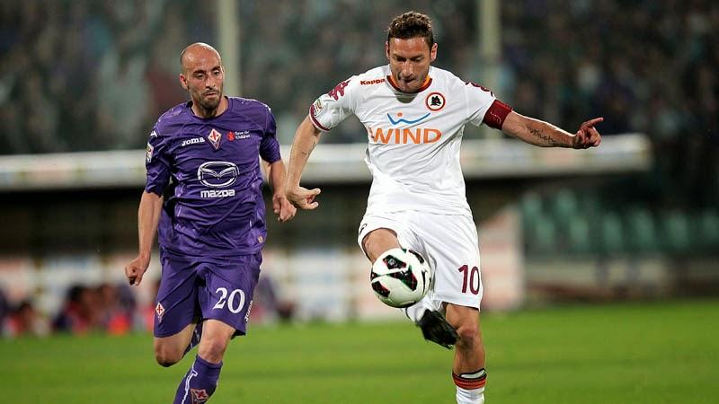 Fiorentina vs Roma en vivo