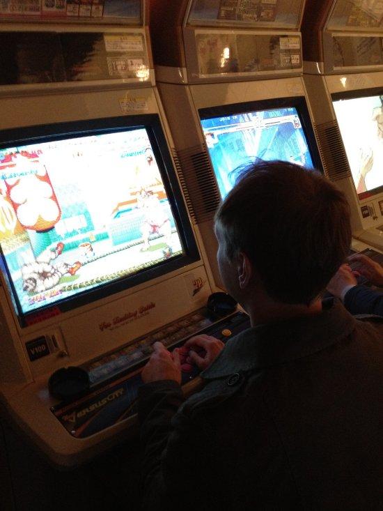 Video Game Arcade in Shinjuku