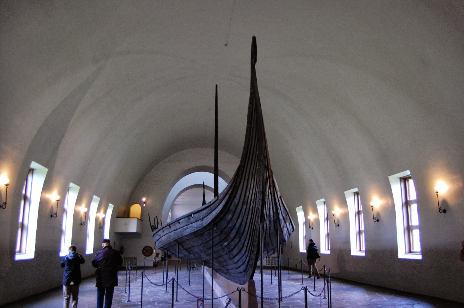 Viking Ship in the museum